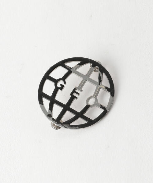 <GEO> GLOBE RUBBERIZED PIN/ピン