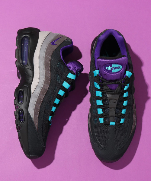 NIKE AIR MAX 95 LV8 (BLACKCOURT PURPLE TEAL NEBULA)?SP?