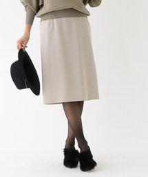 aquagirl(アクアガール)のバックスリットプリーツスカート(スカート)
