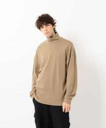 <Steven Alan>SMOOTH LOOSE TURTLE NECK LONG SLEEVE-BOWL/カットソー