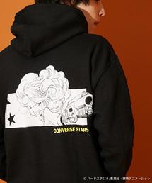 【CONVERSE STARS×DRAGONBALL】ランチバックプリントスウェットパーカー(パーカー)