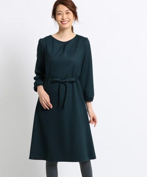 ブランド品専門の ONLINE STOREウール混ジャージ千鳥ミドルワンピース(ワンピース) Sunauna(スーナウーナ)のファッション通販, サトショウチョウ:9d96b83b --- blog.buypower.ng