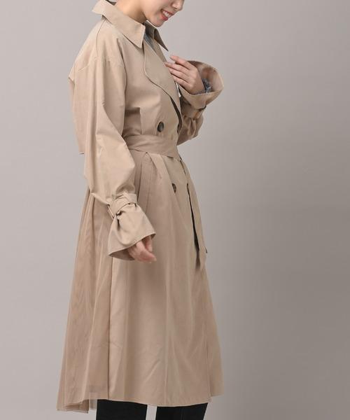 トレンチ コート チュール