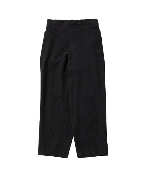FALL2020 WIDE STRAIGHT SLACKS
