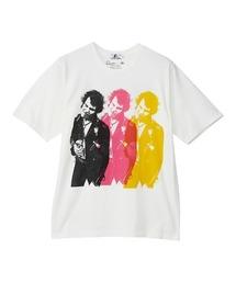 DENNIS MORRIS/TRIPLE SID VICIOUS Tシャツホワイト
