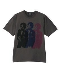 DENNIS MORRIS/TRIPLE SID VICIOUS Tシャツチャコールグレー