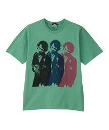 DENNIS MORRIS/TRIPLE SID VICIOUS Tシャツグリーン