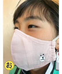 【coen キッズ / ジュニア・WEB限定】コーエンベア刺繍洗えるファッションマスク