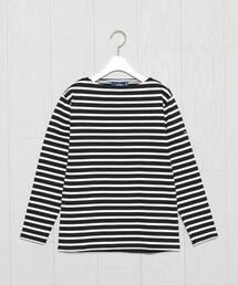 <SAINT JAMES>OUESSANT BORDER PULLOVER/カットソー.