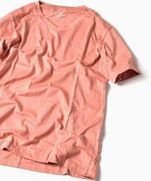 SHIPS(シップス)のSC: アメリカンシーアイランドコットン Vネック Tシャツ■(Tシャツ/カットソー)