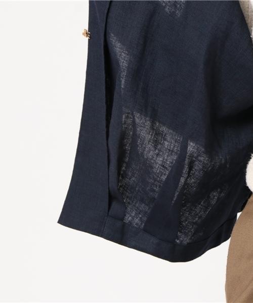 【amherst】ノーカラージャケット