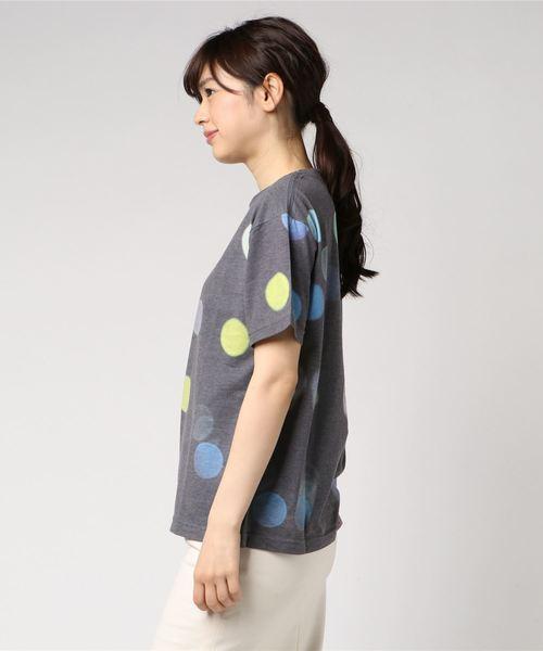 【BURNER×VAIOUS】オリジナル刺繍入り ネオン総柄Tシャツ