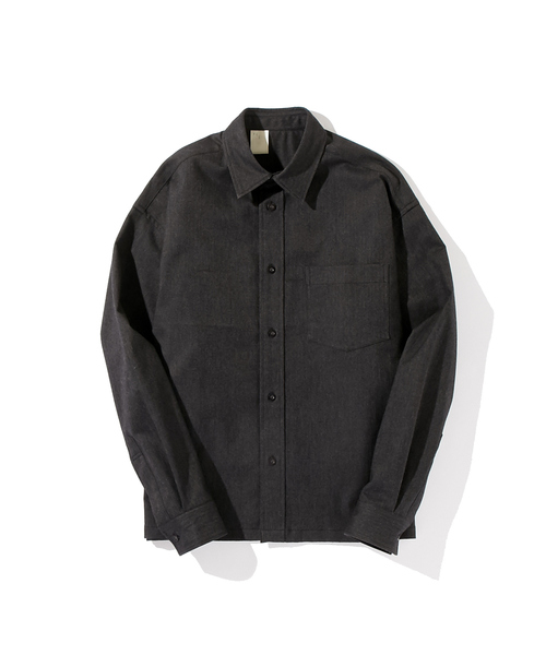 N.HOOLYWOOD AUTUMUN & WINTER 2018 COLLECTION LINE LONG SLEEVE SHIRT