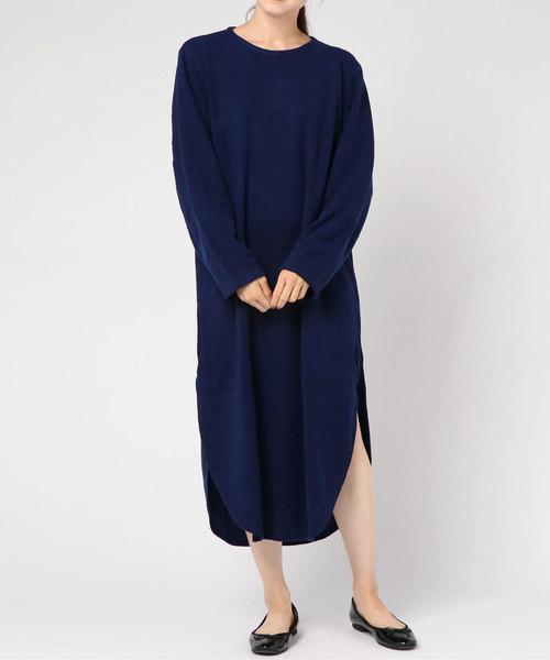 【Edwina Horl】  rib BIG dress