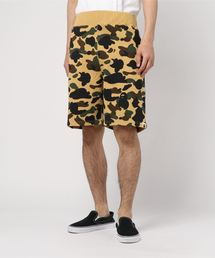 1ST CAMO SWEAT SHORTS M BAPEC(パンツ)