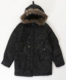 LOGO SCRATCH pt N-3B コート【L】ブラック