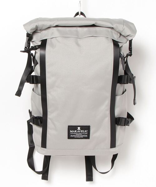 MAKAVELIC(マキャベリック)の「【62】【it】【MAKAVELIC】CHASE CYCLIST BACKPACK(バックパック/リュック)」|ライトグレー