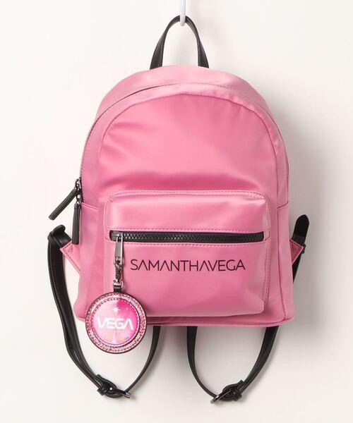 SAMANTHAVEGA(サマンサベガ)の「SAMANTHAVEGAロゴリュック(バックパック/リュック)」|詳細画像