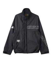 HG ロゴ スタンドカラージャケットブラック