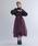 la belle Etude(ラベルエチュード)の「【LA BELLE ETUDE】Odette(ボリュームチュールスカート)(スカート)」|ワイン