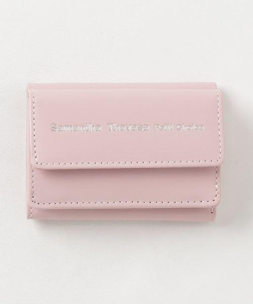 シンプルレザーロゴ ミニ財布【3年保証対象】