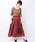 haco!(ハコ)の「【裏地付き】【人気色追加】1枚でも重ね着にも便利なキラキラ素材がかわいいロングスカート by laulea(スカート)」 ボルドー