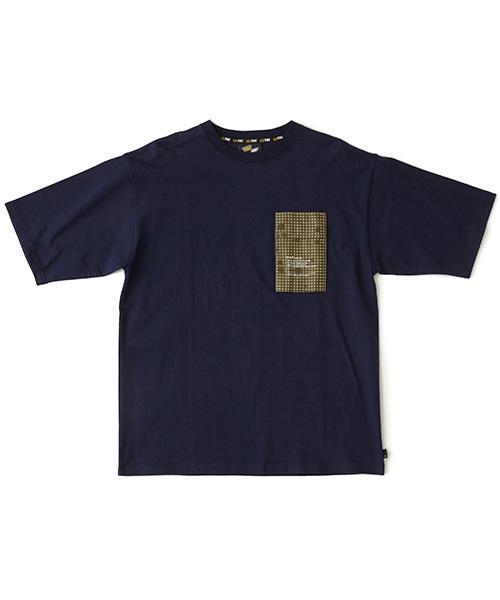 FAT(エフエイティー)の「WARMAN(Tシャツ/カットソー)」|ネイビー