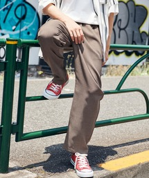 KANGOL/カンゴール MONO-MART別注 テックリネン ロゴ刺繍 シェフパンツベージュ系その他