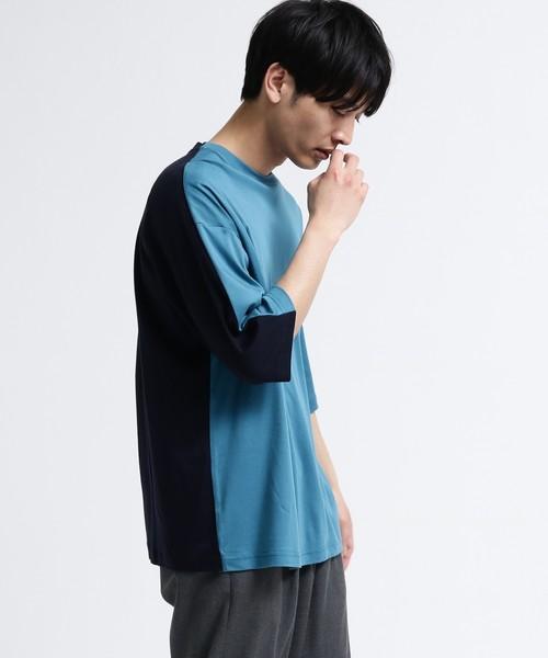 スーピマスムース6分袖Tシャツ
