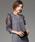 SMILE ORCHID(スマイルオーキッド)の「袖フリルワンピースパーティードレス(ドレス)」|グレー