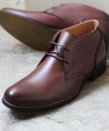 DEDESKEN(デデスケン)の  [日本製本革]履いた時のシルエットがきれいなチャッカーブーツ/  DEDESKEN 10561(ブーツ)
