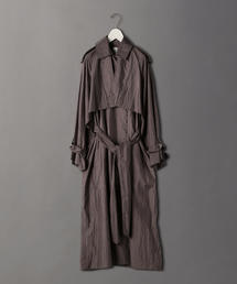 <6(ROKU)>NYLON BIG TRENCH COAT/コート