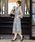 niana(ニアナ)の「襟ボウタイレース 結婚式ワンピース パーティードレス 成人式 同窓会 二次会 ドレス(ドレス)」 詳細画像