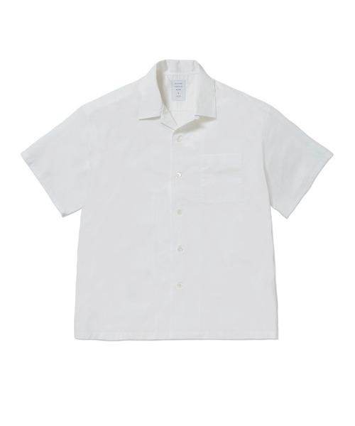 MISTERGENTLEMAN(ミスタージェントルマン)の「CAMP COLLAR S/S SHIRT(シャツ/ブラウス)」 ホワイト
