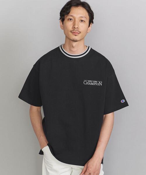 <CHAMPION(チャンピオン)> LOGO S/S TEE/Tシャツ