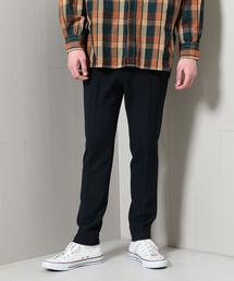 <H>DRAPE DOUBLE CLOTH TROUSER/パンツ