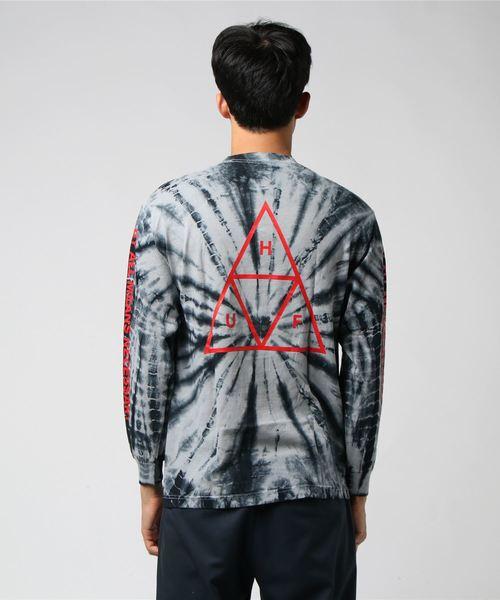 TT TIE-DYE L/S TEE  HUF ハフ Tシャツ