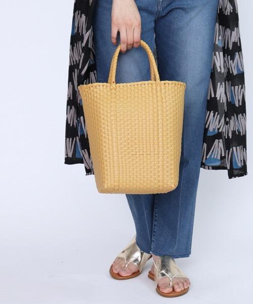 メルカドバック /かご編みバック / お買いものバック/市場のバッグ