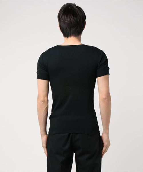 Letroyes / ルトロワ:JEAN COTTON TEE PLAIN LONG FIBER:LT103-CLF03[MUS]