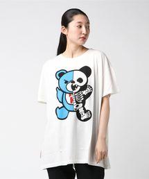 SKELETON BEAR pt ビッグTシャツ