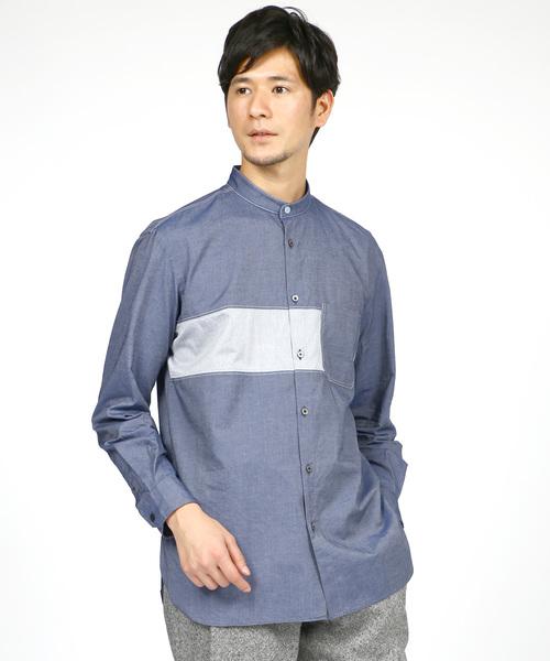 50%OFF 【セール】スタンドカラー MEN,ランバン ロングテールシャツ(シャツ en/ブラウス)|LANVIN en en Bleu(ランバンオンブルー)のファッション通販, ヤマモトマチ:5a9de52d --- hausundgartentipps.de