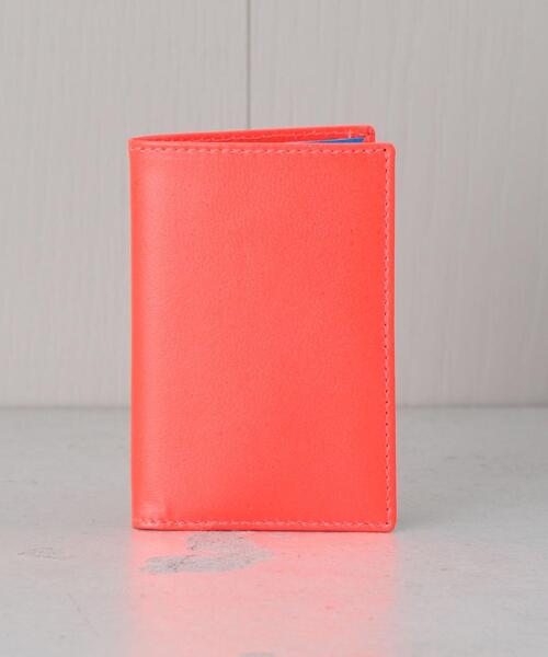 <Wallet COMME des GARCONS>CARD WALLET FLUO/ウォレット.