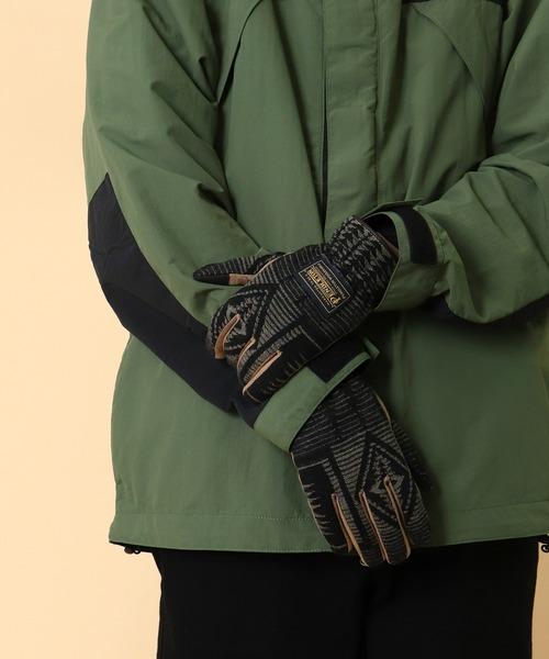 【 PENDLETON / ペンドルトン 】 MENS FABRIC GLOVE メンズ ファブリック グローブ 手袋