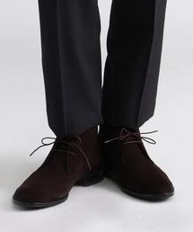 TAKEO KIKUCHI(タケオキクチ)のスエードチャッカーブーツ [ メンズ ブーツ ビジネス ](ブーツ)