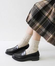 靴下屋(クツシタヤ)の靴下屋/ ダイヤケーブルソックス(ソックス/靴下)
