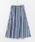 URBAN RESEARCH DOORS(アーバンリサーチドアーズ)の「マルチストライプスカート(スカート)」 詳細画像