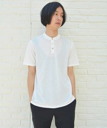 【roberto collina】ヘンリーネックTシャツ(Tシャツ/カットソー)