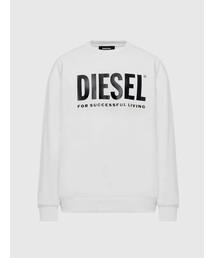 DIESEL(ディーゼル)のメンズ スウェット メンズ スウェット ロゴプリント レギュラーフィット(スウェット)