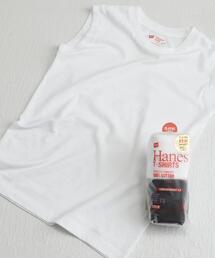 [ヘインズ] SC Hanes Japan Fit ノースリーブ 2P セット Tシャツ