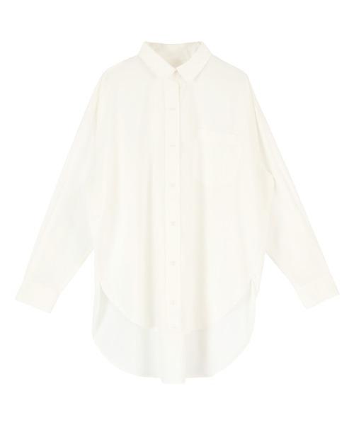 titivate(ティティベイト)の「2wayデザインオーバーシャツ(シャツ/ブラウス)」 オフホワイト